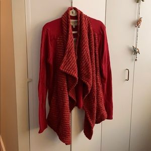 New Lucky Brand Red Sweater